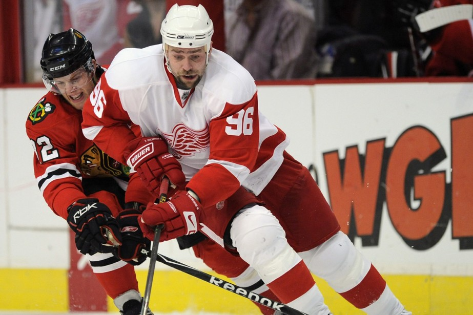 Tomas Holmstrom... (Photo: AP)
