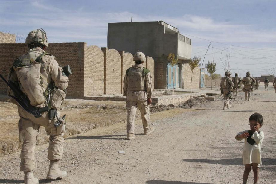 Les efforts de recrutement ont été payants pour les Forces... (Photo AP)