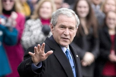 George W. Bush... (Photo: Reuters)