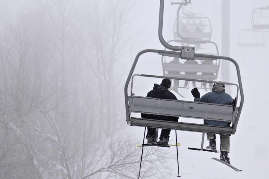 Ski Bromont et Mont-Saint-Sauveur sont les seules stations... (Photo: Bernard Brault, La Presse)
