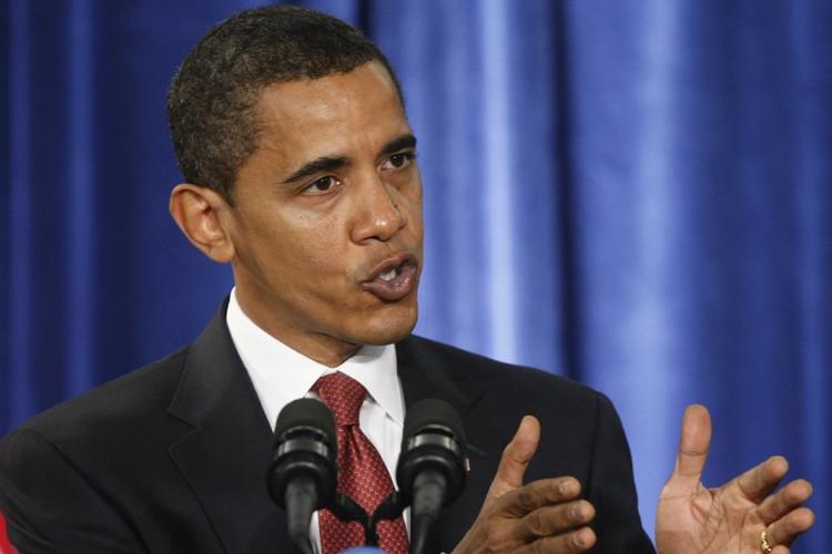 Le président élu américain Barack Obama a dit sa peine vendredi... (Photo: AP)
