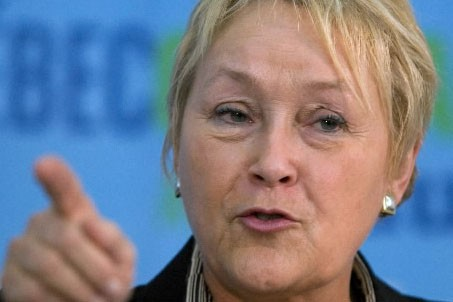 Pauline Marois... (Photo: PC)