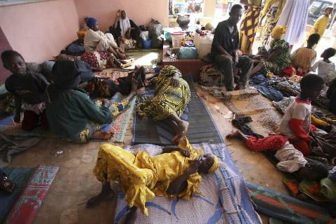 Les camps de réfugiés accueillent de plus en... (Photo: Reuters)