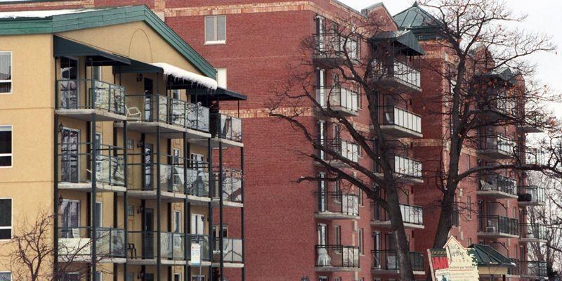 Les résidences Logidor, une des maisons pour personnes... (Photo Jean-Marie Villeneuve, Le Soleil)