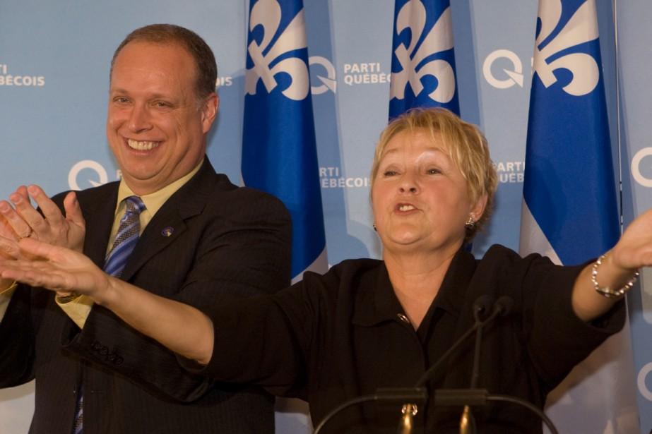 Pauline Marois a appelé ses partisans à voter... (Photo: Robert Skinner, La Presse)