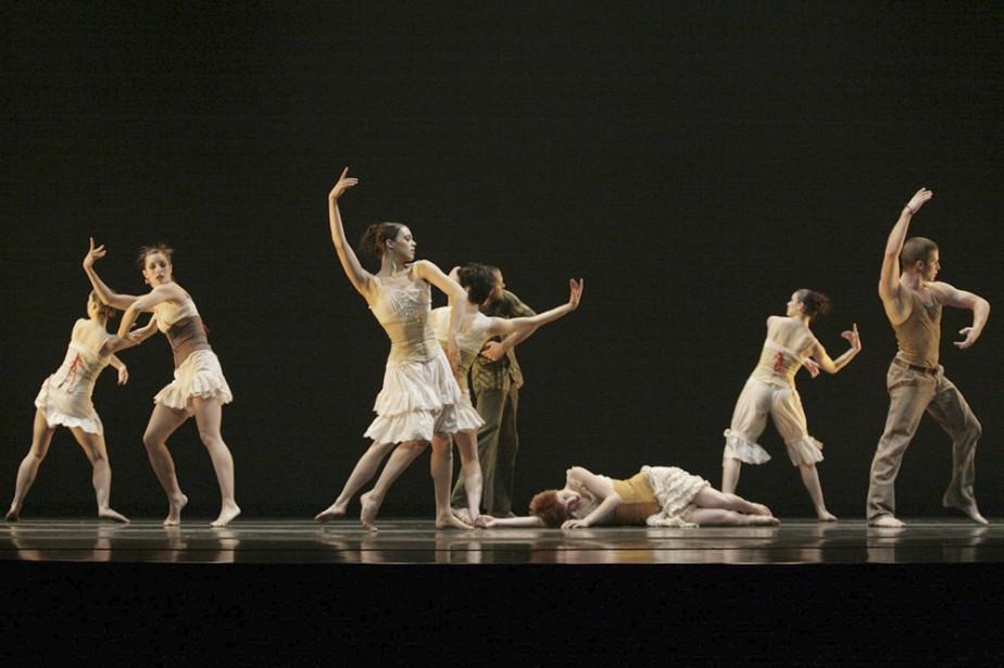 La compagnie [bjm_danse] a présenté un programme double,... (Photo: Jean Tremblay)