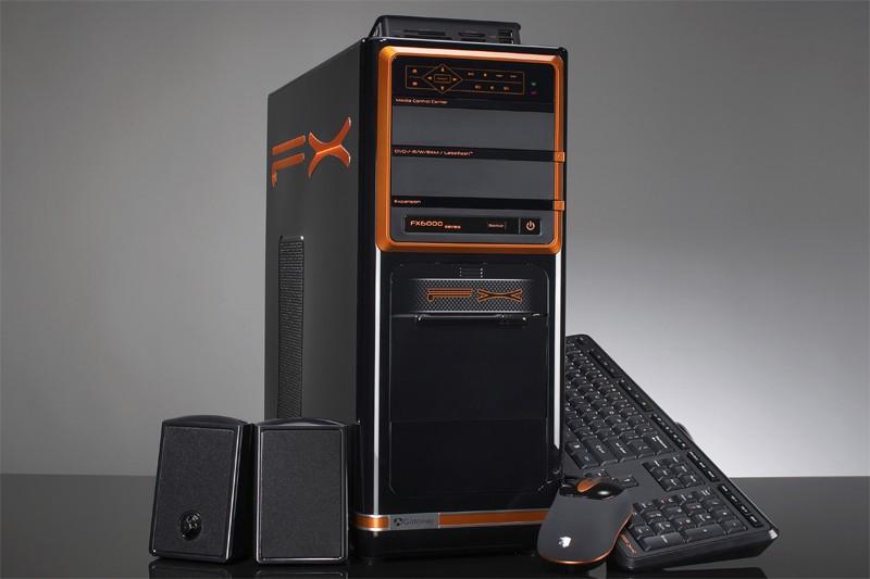 Le Gateway FX6800 muni du Core i7 d'Intel...