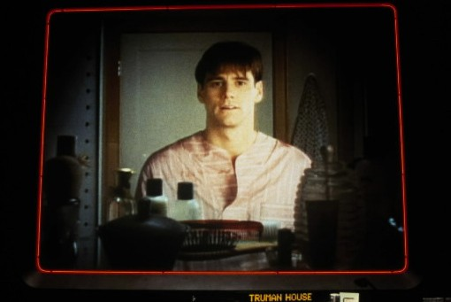 Jim Carrey dans The Truman Show.... (Photo: AP)