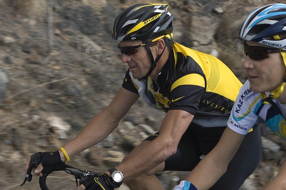 Lance Armstrong a repris l'entraînement lundi à Tenerife.... (Photo: Reuters)