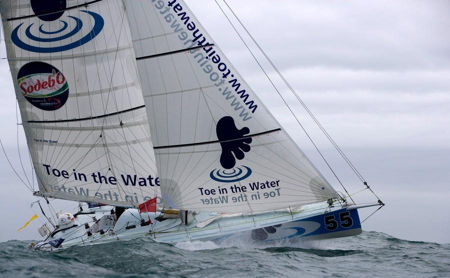 Le groupe de tête navigue maintenant dans la portion du Vendée Globe la plus...