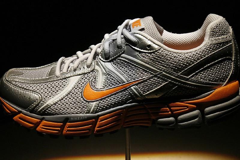 Une chaussure de sport Nike Pegasus 25.... (Photo: Reuters)