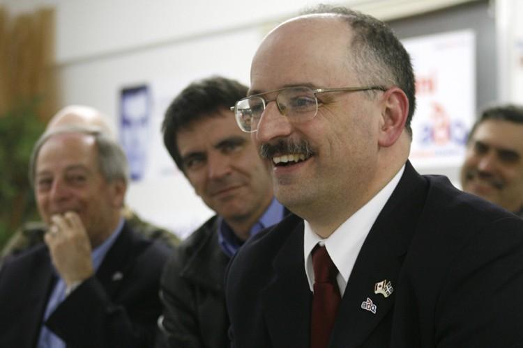 Le candidat adéquiste dans Chambly, Richard Merlini, a... (Photo: Robert Skinner, La Presse)