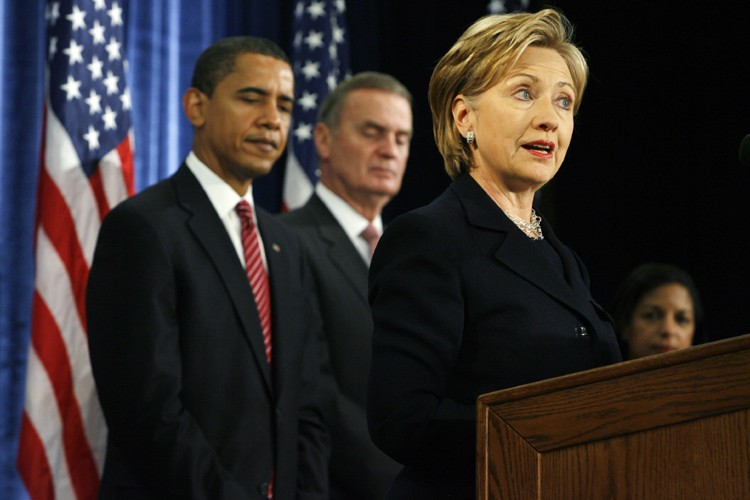 Hillary Clinton a affirmé souhaiter rétablir le rang... (Photo: Bloomberg)