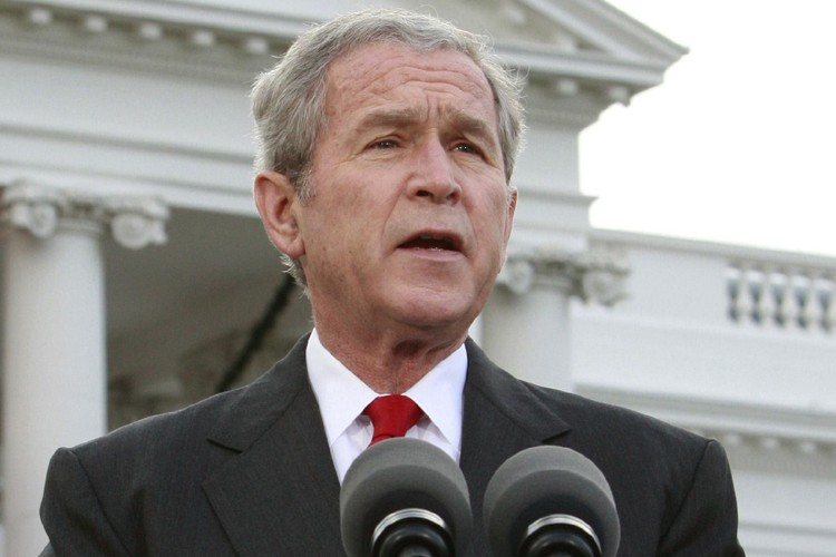 George W. Bush a déclaré que les erreurs... (Photo: Reuters)