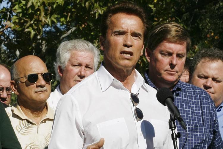 Le gouverneur Arnold Schwarzenegger a convoqué lundi une session... (Photo: AP)