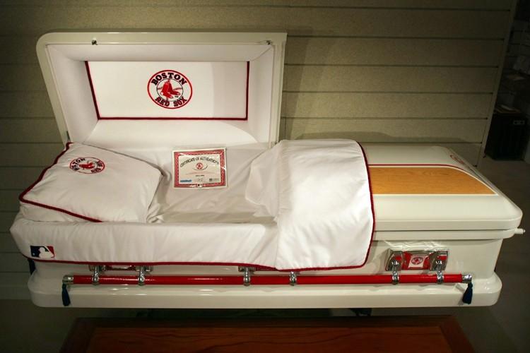 Un salon funéraire du Massachusetts a reçu un... (Photo: AP)
