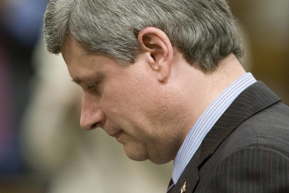 Le premier ministre Stephen Harper promet à ses... (Photo La Presse Canadienne)