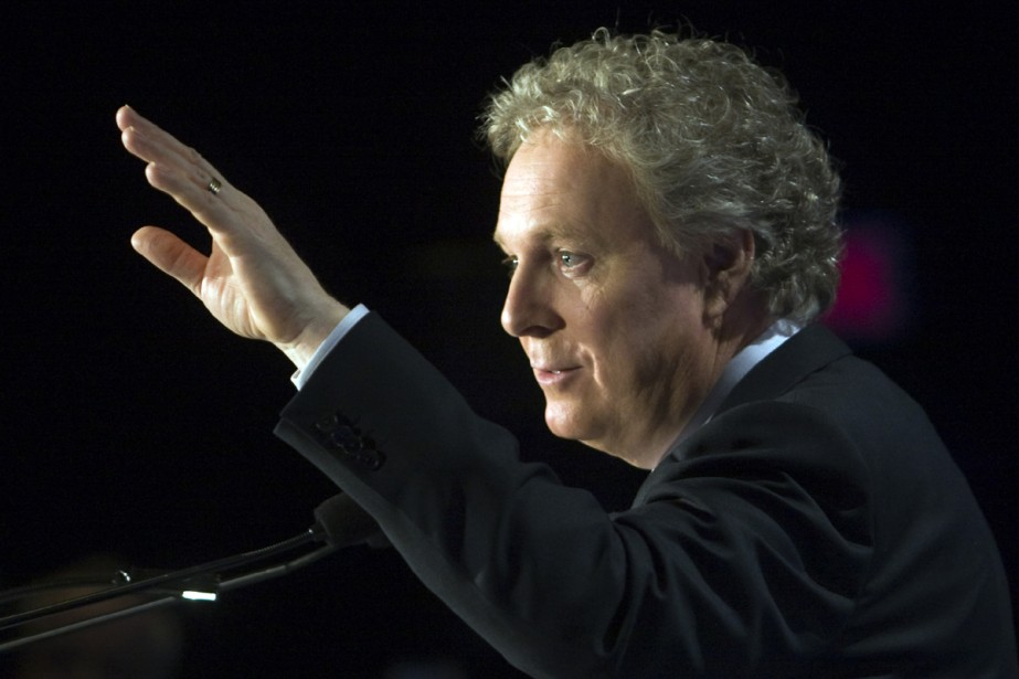Jean Charest s'est adressé hier à plus de... (Photo La Presse Canadienne)