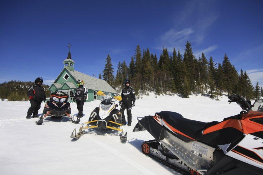 Dans quelques années, la motoneige dans le parc... (Photo: Tourisme Saguenay)