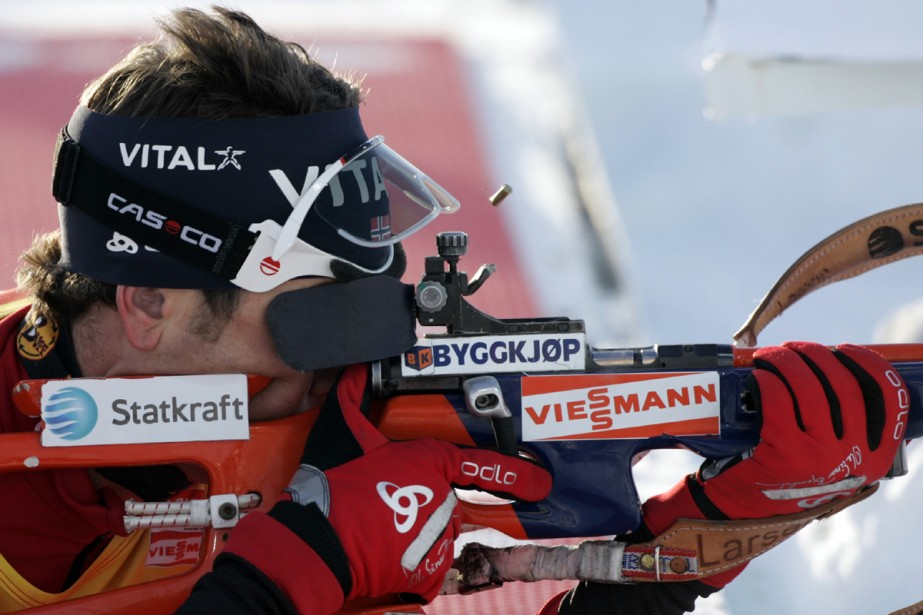 Ole Einar Bjoerndalen... (Photo: Reuters)