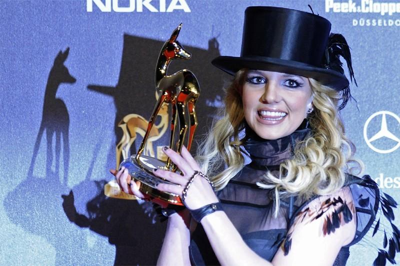 La chanteuse américaine Britney Spears... (AFP)