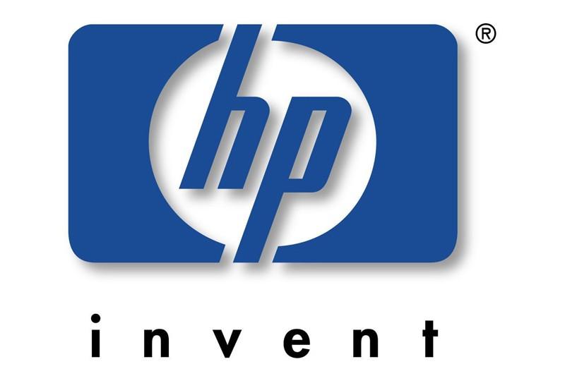 Le logo de Hewlett-Packard...