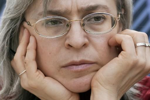 Anna Politkovskaïa... (Photo: AFP)