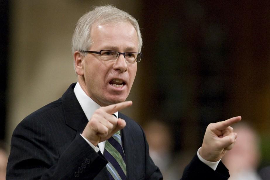 Stéphane Dion a haussé le ton à plusieurs... (Photo La Presse Canadienne)