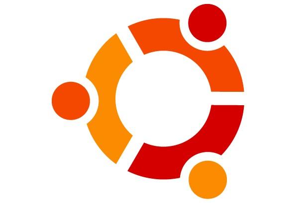Le logo du système d'exploitation libre Ubuntu...