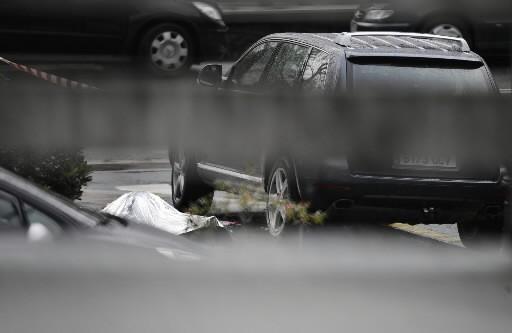 Le corps de l'homme assassiné au Pays basque.... (Photo: AFP)