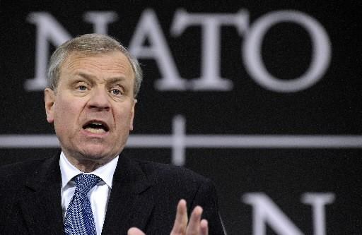 Jaap de Hoop Scheffer, secrétaire général de l'ONU... (Photo: Bloomberg)