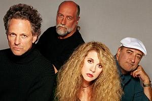 Lindsay Buckingham, Mick Fleetwood, Stevie Nicks et John...