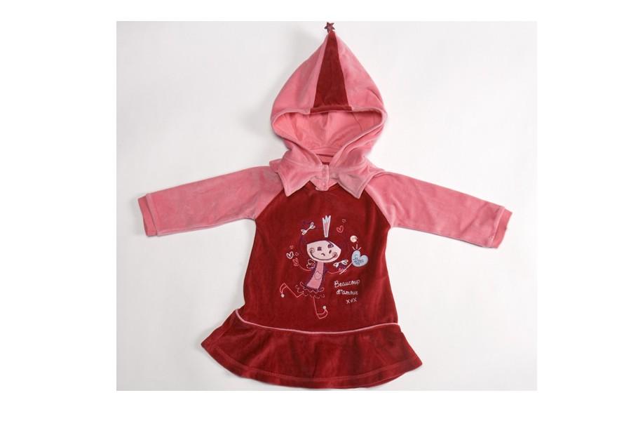 Cette robe de détente La Fée, conçue chez Souris Mini, est l'un des coups de...