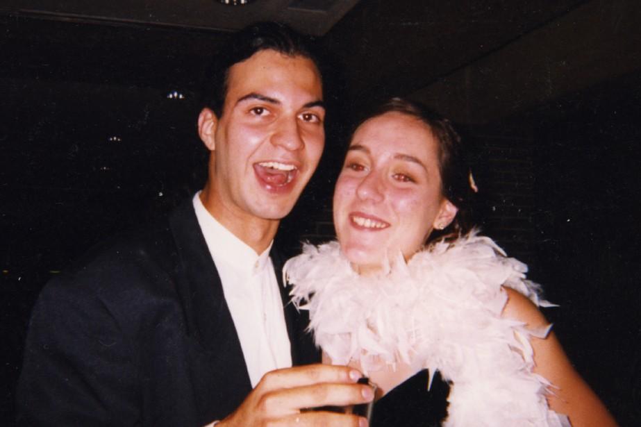 Patrick Merlin et Audrey-Ève Charron....