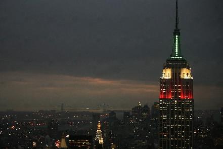 L'Empire State Building à New York.... (Photo: AFP)