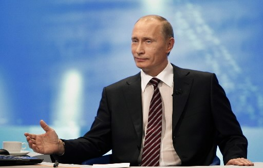 Vladimir Poutine... (Photo: AP)