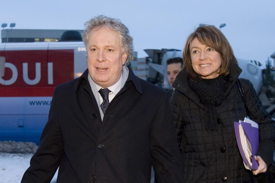 Comme elle n'exclut pas une alliance avec l'ADQ... (Photo La Presse Canadienne)
