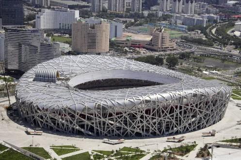 Le stade, surnommé le «Nid d'oiseau», est devenu... (Photo: Reuters)