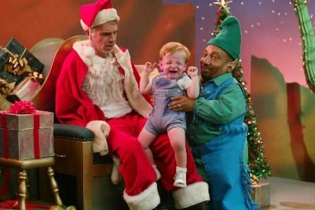 Billy Bob Thornton incarne un père Noël alcoolo,... (Photo: archives AP)