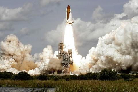 Décollage de la navette Atlantis à Cap Canaveral,... (Photo: archives Reuters)
