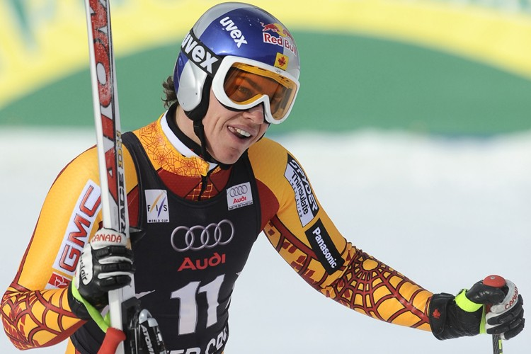 Erik Guay... (Photo: Reuters)