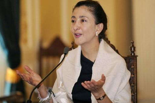 L'ex-otage des Farc, la Franco-Colombienne Ingrid Betancourt,... (Photo: AFP)