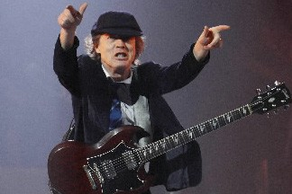 Le guitariste d'AC/DC... (Photo: Reuters)