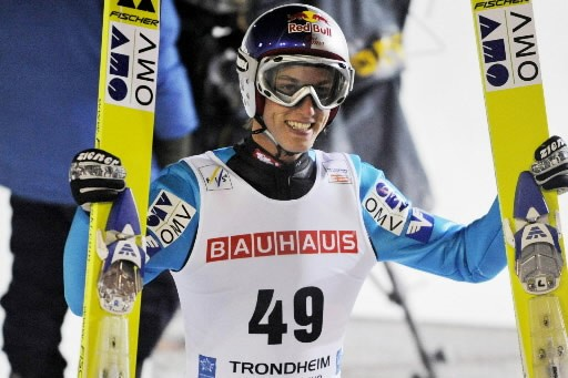 Gregor  Schlierenzauer... (Photo: AFP)