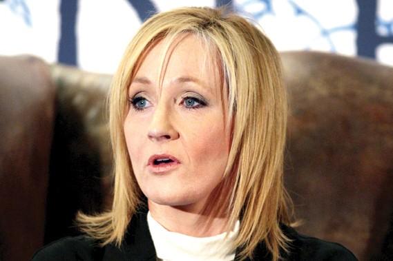 J.K Rowling... (AFP)