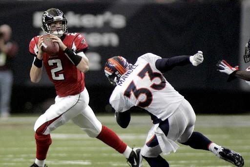 Le quart-arrière Matt Ryan des Falcons.... (Photo: Reuters)