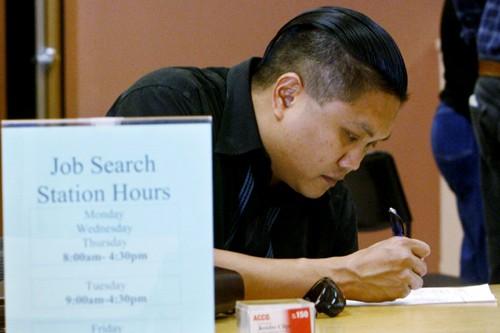 Un chercheur d'emploi à Glendale, en Californie.... (Photo: Archives Reuters)