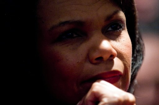 Condoleezza  Rice... (Photo: AFP)