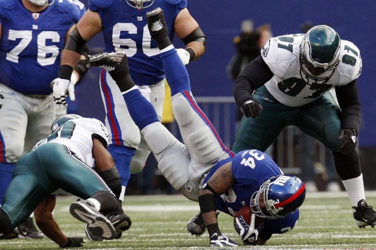 Les Giants de New York ont finalement trouvé de plus grandes... (Photo: Reuters)