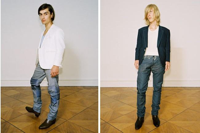 Deux créations de Kostas Murkudis pour Hellenic Fabrics.... (Photo: www.kostasmurkudis.net)